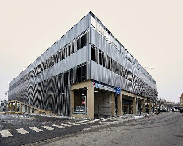 Außenansicht des Fernbus-Terminals am Hauptbahnhof Leipzig