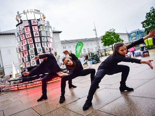Mitglieder des Leipziger Balletts eröffneten den Auftritt der Musikstadt Leipzig in Salzburg, Foto: DZT Janos Bakula