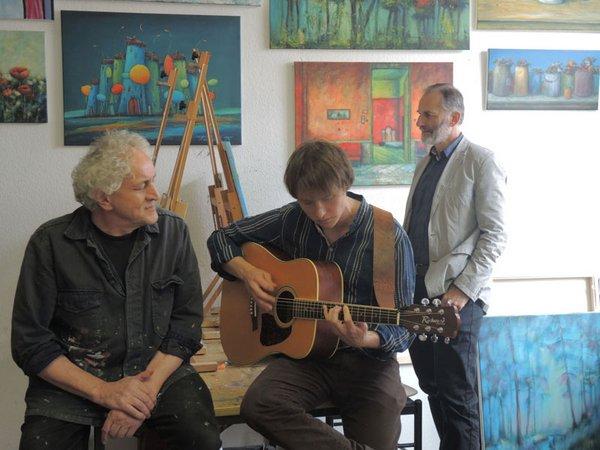 Hausmusik im Atelier Wolf
