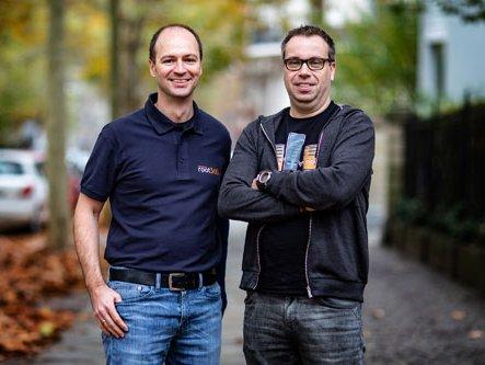 Die Gründer von root360 Michael Ablass (links) und Steffen Drya (rechts)