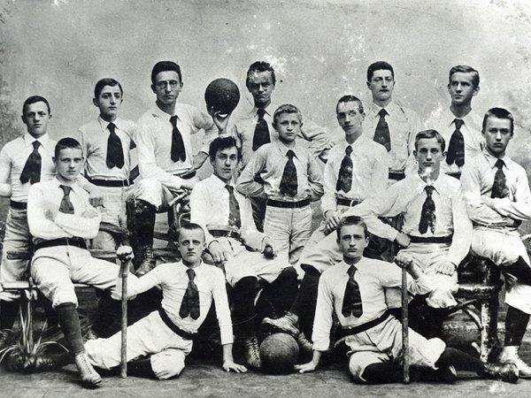 Die 1888 gegründete Spielvereinigung im Allgemeinen Turnverein war der erste organisatorische Zusammenschluss von Fußballern in Leipzig, Foto: SGM