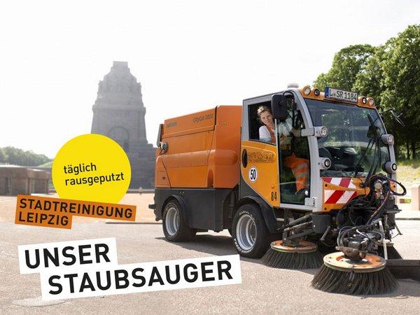 Kampagne der Stadtreinigung Leipzig, Foto: Stadtreinigung Leipzig
