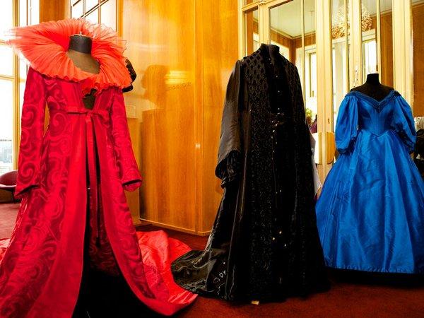 Kostüme beim Tag der offenen Tür 2012