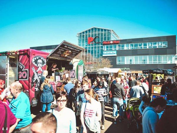 Street Food Festival im Paunsdorf Center, Foto: Street Food Leipzig