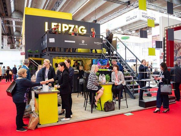 Leipzig-Stand auf der IMEX 2019, Foto: Foto Svenja Sauer