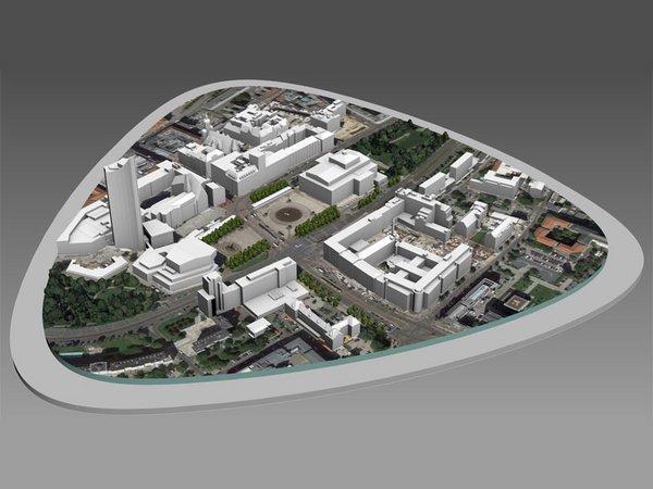 Virtueller Tisch Augustusplatz, Foto: IVRL