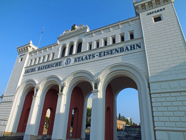 Portikus des Bayerischen Bahnhofs