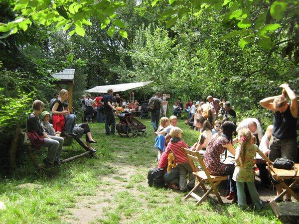Herbstfest im Stadtgarten Connewitz