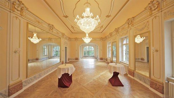Spiegelsaal im Herrenhaus Möckern