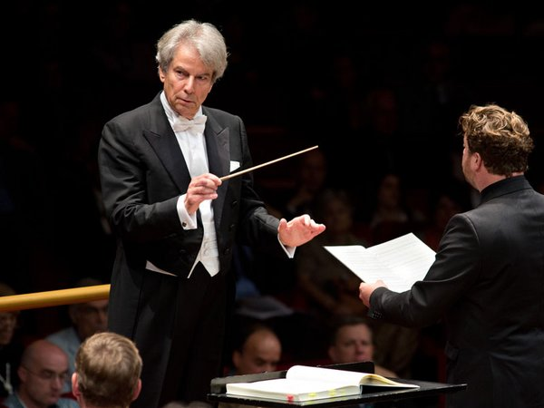 Dirigent Hartmut Haenchen, Foto: Riccardo Musacchio