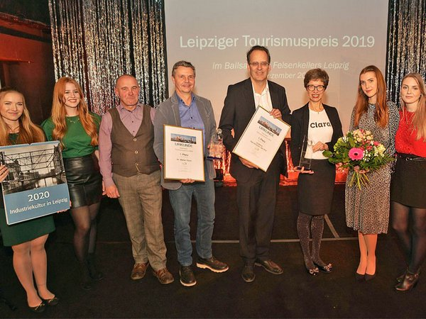 Leipziger Tourismuspreis 2019: Preisträger, Foto: Bernd Görne