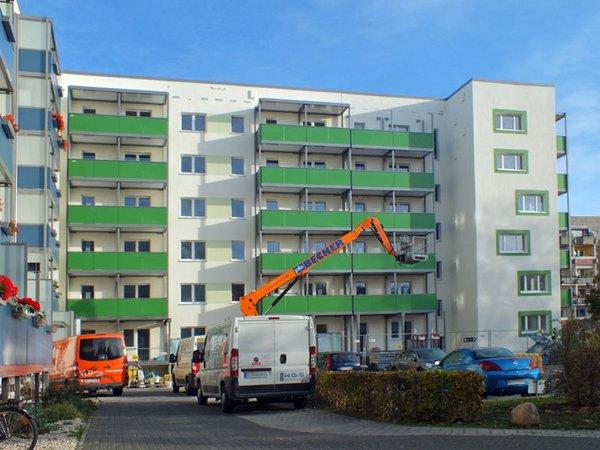 Sanierung Sternwartenstraße, Foto: W&R IMMOCOM (Anja Wolf)