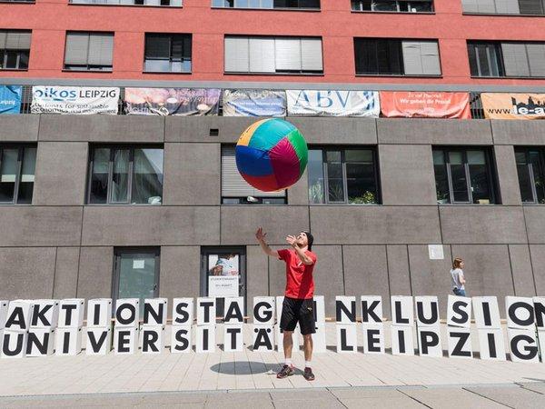 Aktionstag Inklusion im vergangenen Jahr, Foto: Swen Reichhold