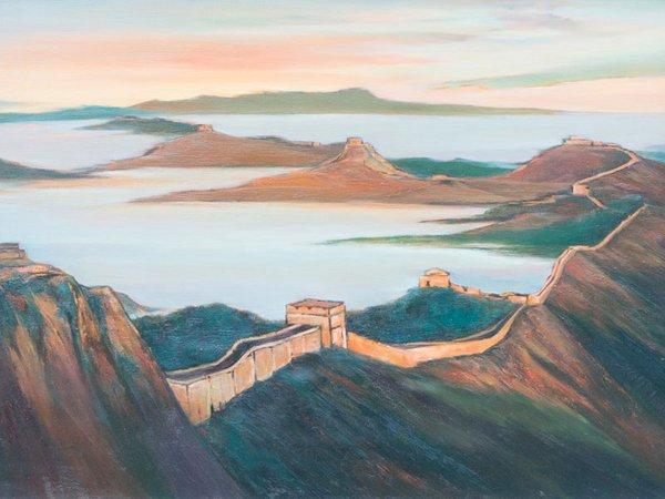 Farbe und Kultur: von Qingdao über die Große Mauer nach Deutschland