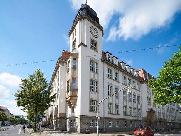Der Geutebrückbau - Gebäude der HTWK Leipzig, Foto: HTWK Leipzig