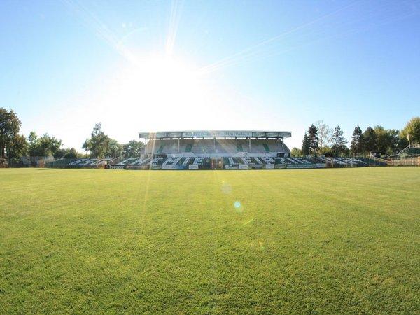 Alfred-Kunze-Sportpark in Leipzig-Leutzsch, Foto: BSG Chemie Leipzig e.V.