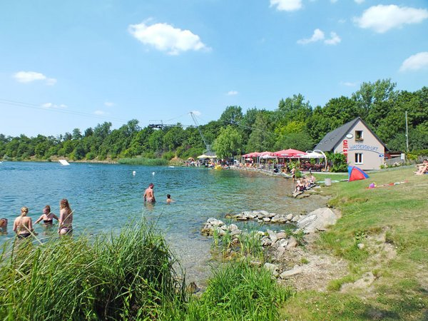 Wasserskianlage am Kulkwitzer See
