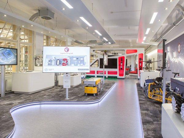 Logistics Living Lab, Foto: BMBF / Innovation & Strukturwandel / Thilo Schoch
