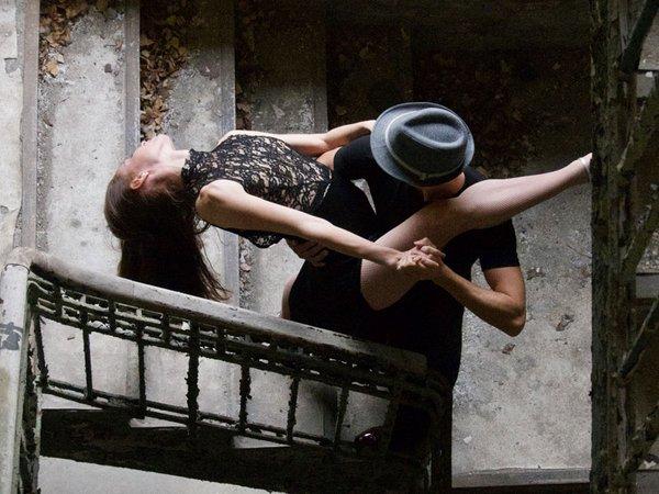 Tangoche: German Farias und Maia Medrano, Foto: G. Farias