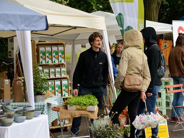 Leipziger Umwelttage, Foto: Ökolöwe / Lukas Speck