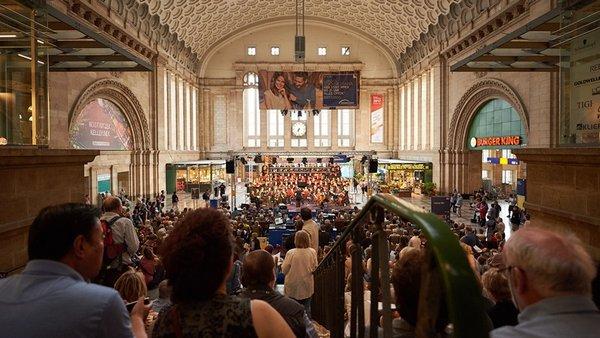 Mitsingkonzert am 10. Juni 2017 im Promenaden Hauptbahnhof