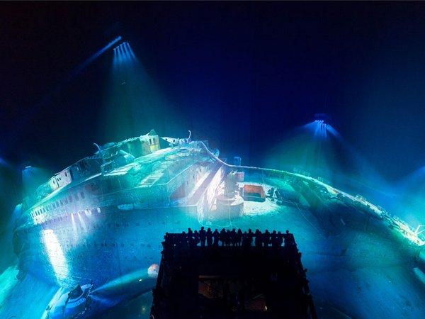 Panorama TITANIC aus der Draufsicht, Foto: Tom Schulze