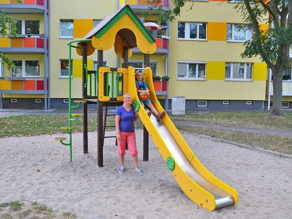 Lipsia-Spielplatz in der Simon-Bolivar-Straße, Foto: Lipsia
