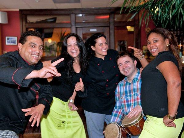 Das karibisch-kreolische Restaurant mit Cocktailbar