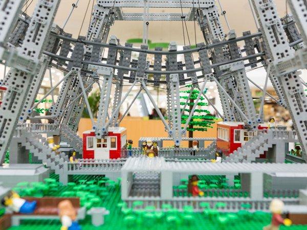 Die Welt der bunten Steine gibt es an den LEGO Tagen im P.C. zu bestaunen, Foto: Paunsdorf Center