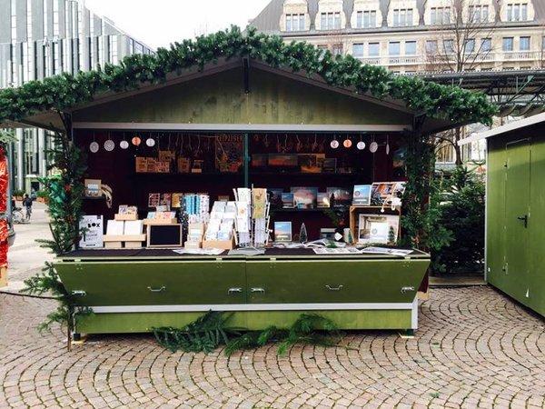 Stadtschwärmer - 2016 erstmals auf dem Leipziger Weihnachtsmarkt mit einem Stand vertreten.