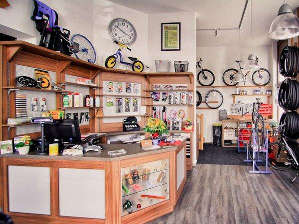 Fahrradwerkstatt in der Zschocherschen Straße