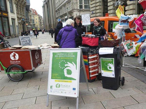 Woche der Abfallvermeidung mit Tütentausch, Foto: Ökolöwe - Umweltbund Leipzig e.V.