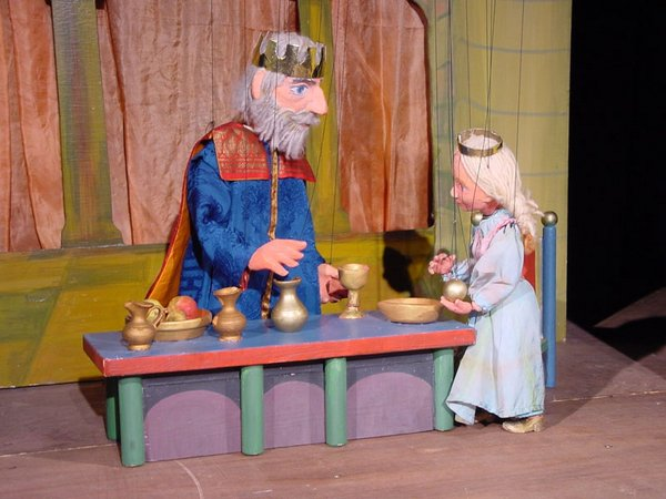 Der Froschkönig, Foto: Puppentheater Sterntaler