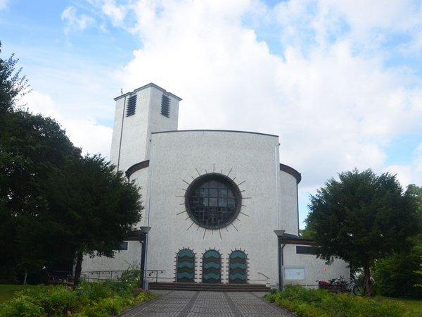 St. Bonifatius-Kirche in Leipzig-Connewitz, Foto: Katholisches Pfarramt St. Bonifatius