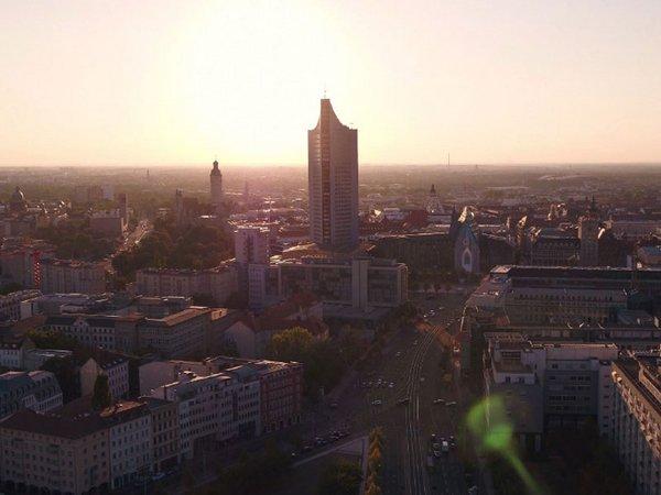 Die Reise durch die Universität Leipzig beginnt (Screenshot aus dem Film), Foto: Universität Leipzig