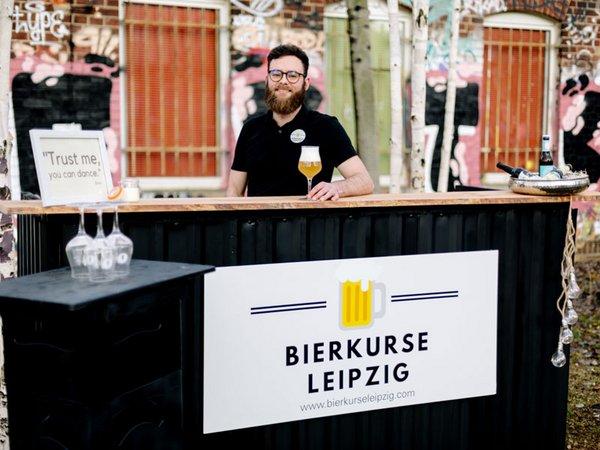 Bierkurse Leipzig mit der Mobilen Bar, Foto: Ludwig Reinhold