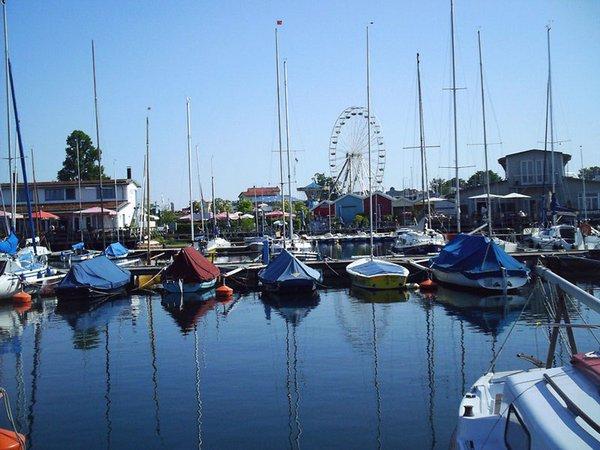 Bootsliegeplätze am Pier1. Foto: LeipzigSeen GmbH