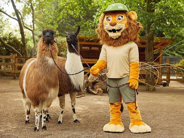 Tammi lädt am Kindertag zur Maskottchen-Parade, Foto: Zoo Leipzig
