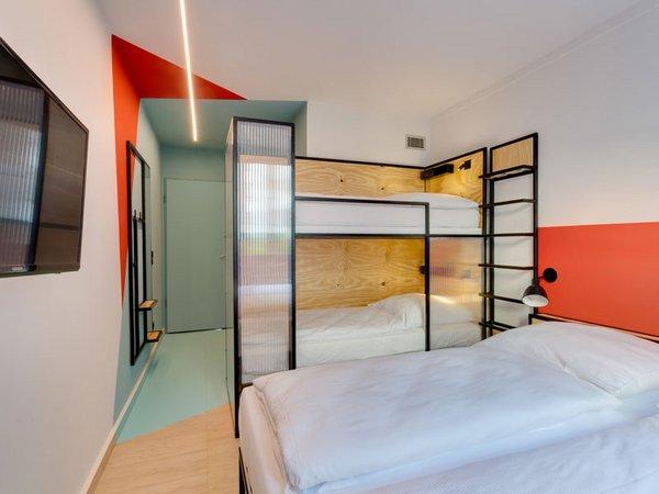 Familienzimmer im MEININGER Hotel Leipzig, Foto: MEININGER HOTELS