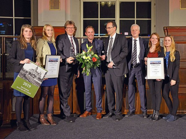 Preisträger Leipziger Tourismuspreis 2018, Foto: Bernd Görne