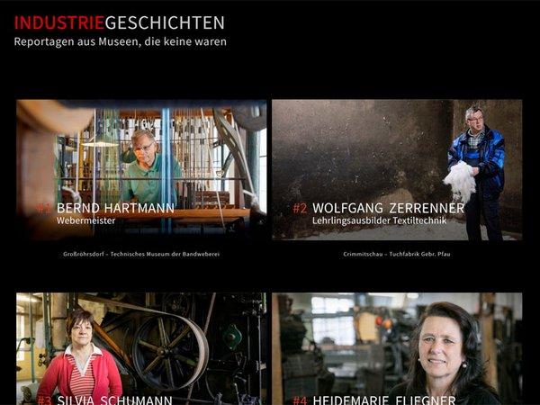 Internetseite: industriegeschichten.de