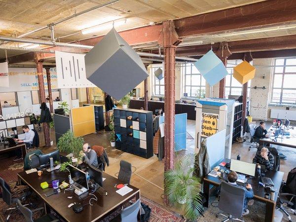 SpinLab Kreativgelände der Leipziger Baumwollspinnerei, Foto: HHL Leipzig Graduate School of Management