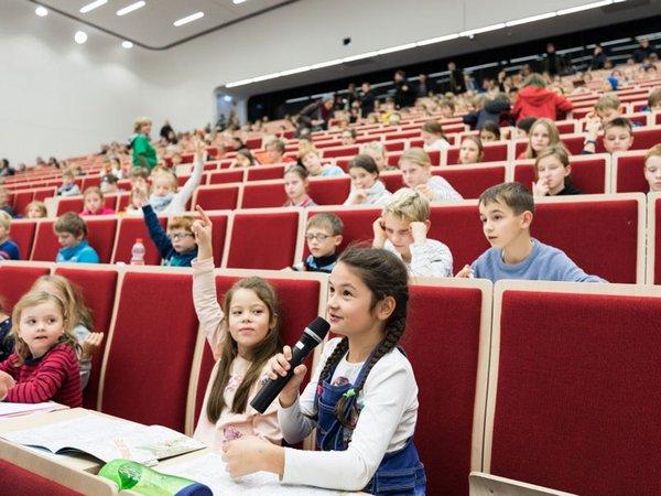 Kinderuni im vergangenen Jahr, Foto: Christian Hüller / Universität Leipzig