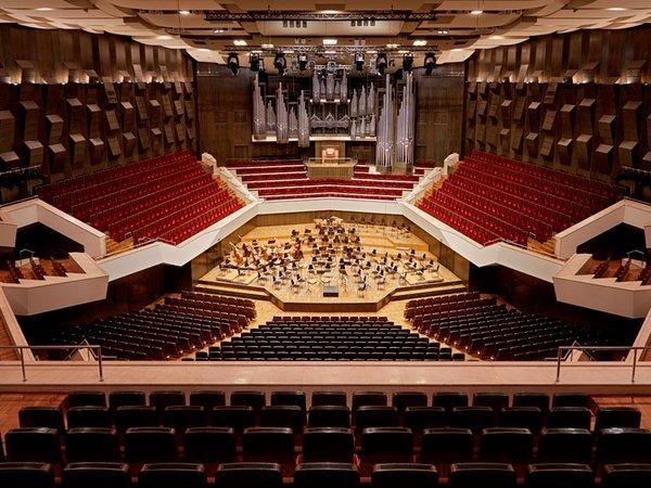 Großer Saal im Gewandhaus zu Leipzig