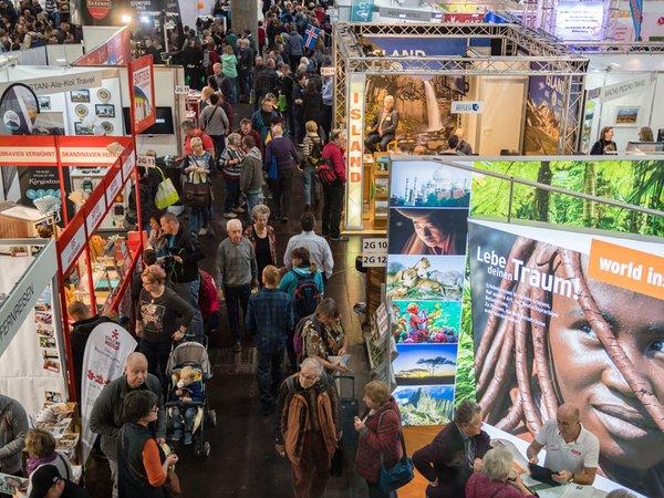 Touristik & Caravaning Leipzig 2018, Foto: Messe Stuttgart
