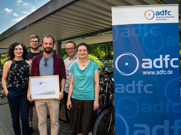 Auszeichnung, Foto: Sebastian Wiedling / UFZ