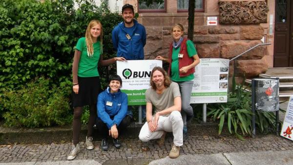 Ein Team des BUND Leipzig.