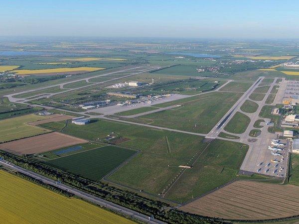 Leipzig Halle Airport aerial view 2018, Foto: Flughafen Leipzig/Halle GmbH