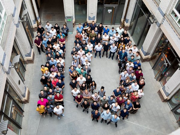 Teamfoto: 10 Jahre, Foto: Appsfactory