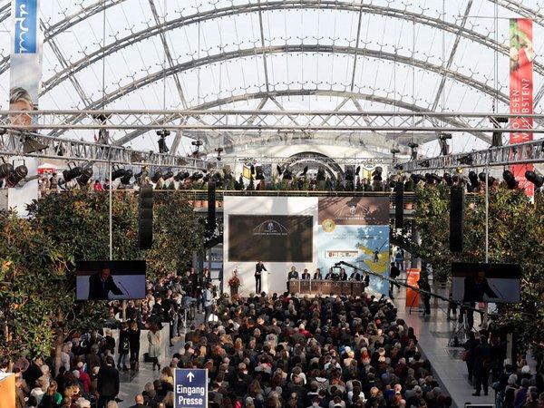 Preisverleihung des Preises der Leipziger Buchmesse